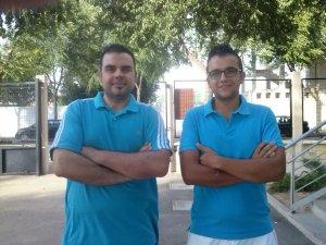 Jesús Flores (Izda) y Agustín Losa (Dcha). Área de Comunicación...