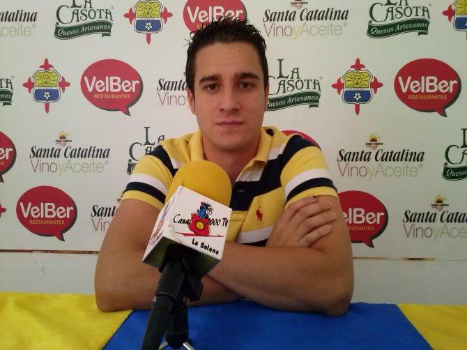 JuanFran Salcedo. Técnico del Juvenil solanero