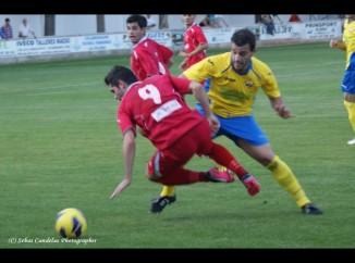 Sancho ante el Almagro CF