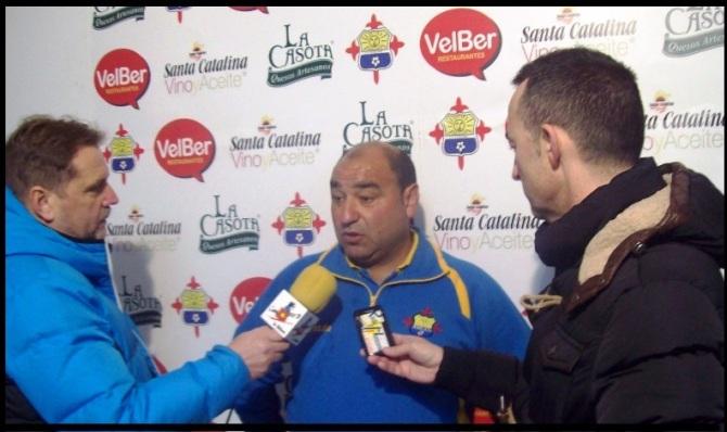 Ángel Izquiero en rueda de prensa ..