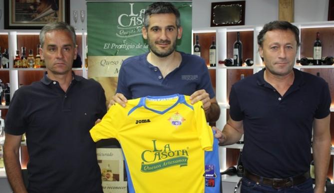 Dani Soria en la derecha será el segundo de Luismi.