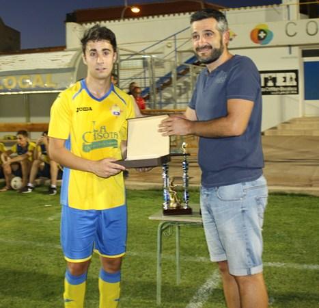 Josema,elegido mejor jugador del partido.